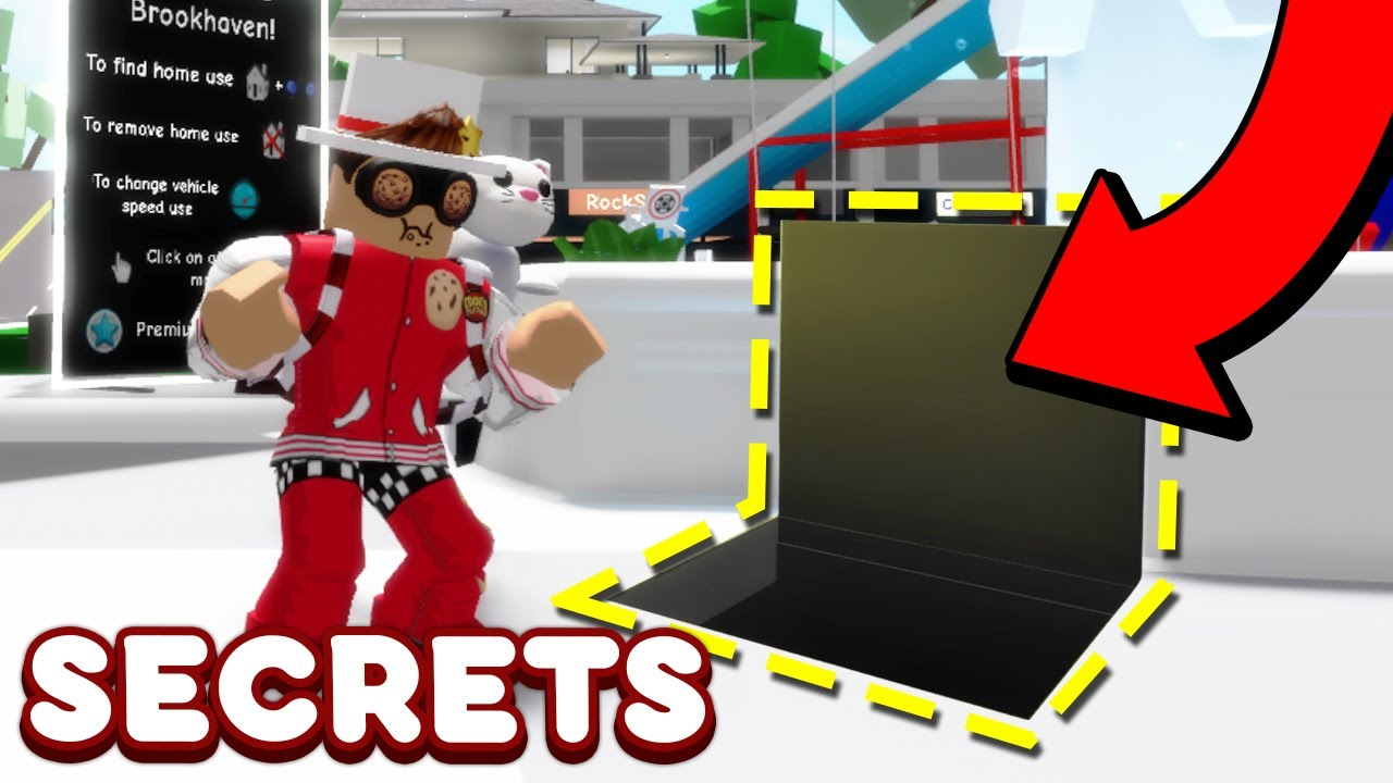 ALL NEW SECRETS IN BROOKHAVEN RP Roblox Brookhaven Roleplay