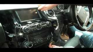 Land Rover Discovery 4 remove console computer and video