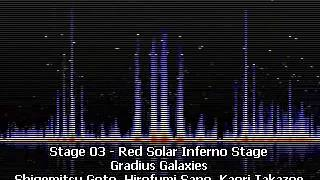 Stage 03 - Red Solar Inferno Stage - Gradius Galaxies