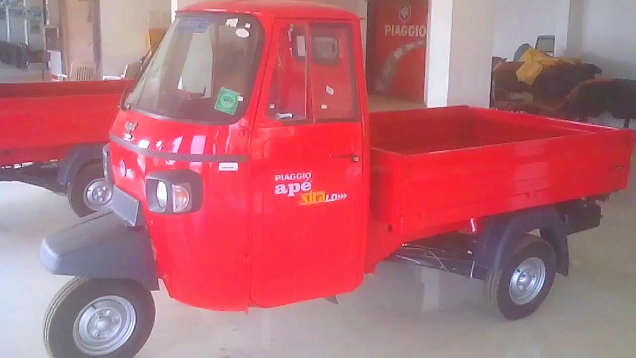 Piaggio Ape Xtra Ld India S No 1 Cargo Vehicle Youtube
