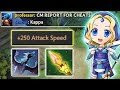 Max Attack Speed + Max Impetus Range [Make your enemies RAGE] Dota 2 Ability Draft