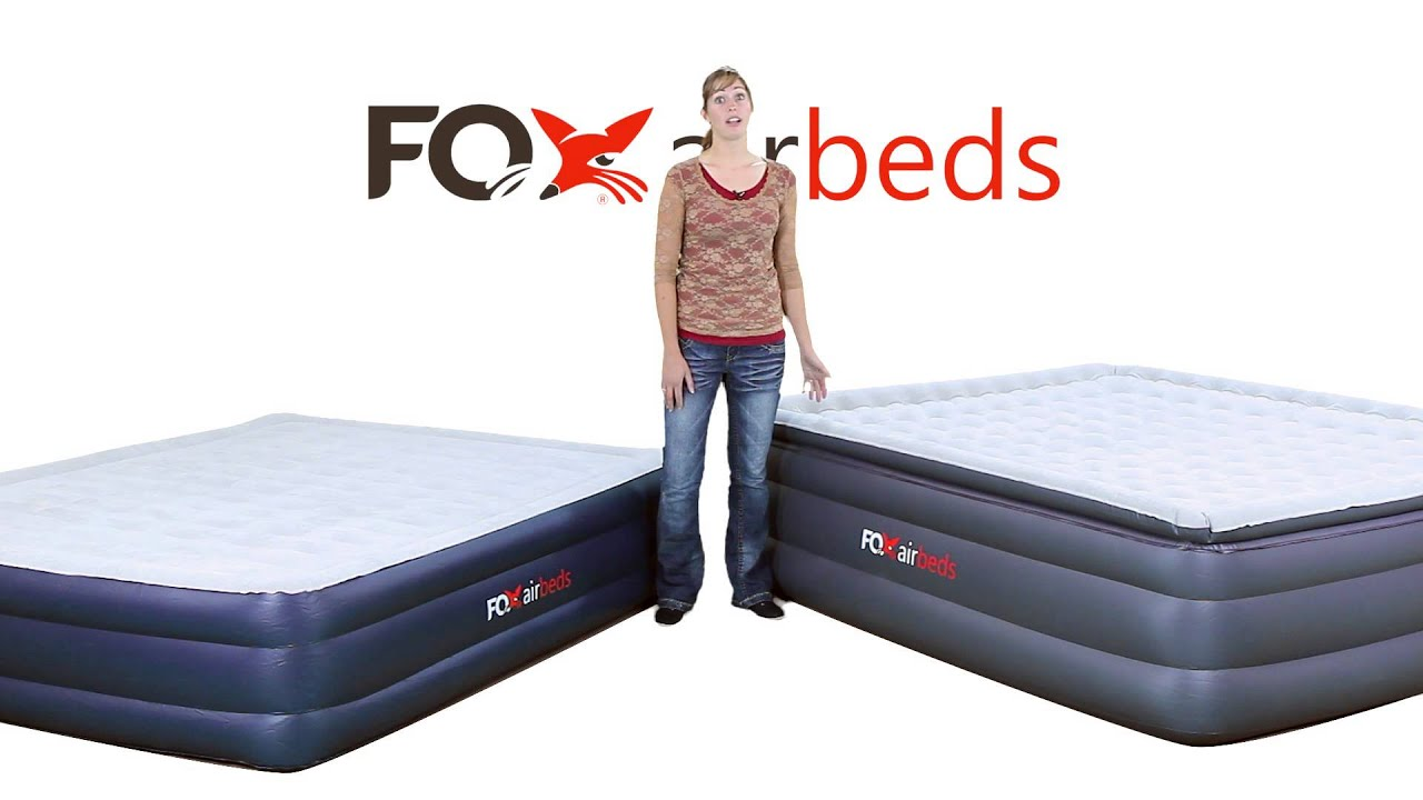 Fox Airbeds California King and Plush High Rise King parison