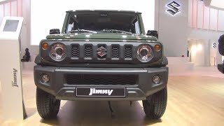 Suzuki Jimny 1.5 VVT AllGrip Pack Jungle Green (2019) Exterior and Interior