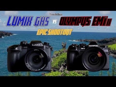 Panasonic GH5 vs Olympus OM-D EM1ii Epic Shootout | Which Camera to Buy Tutorial