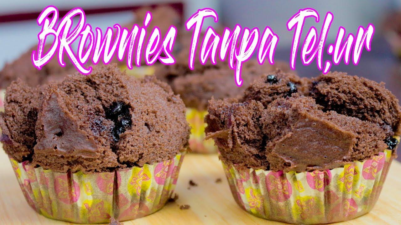 resep brownies  telur Resepi Kek Coklat Sukatan Cawan Enak dan Mudah
