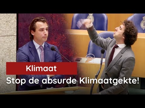 Baudet vs Klaver tijdens Klimaatdebat: Stop deze absurde gekte!
