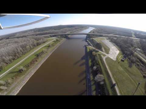 Sunday Funday on the Tennessee-Tombigbee Waterway GoPro Hero DJI Phantom 2