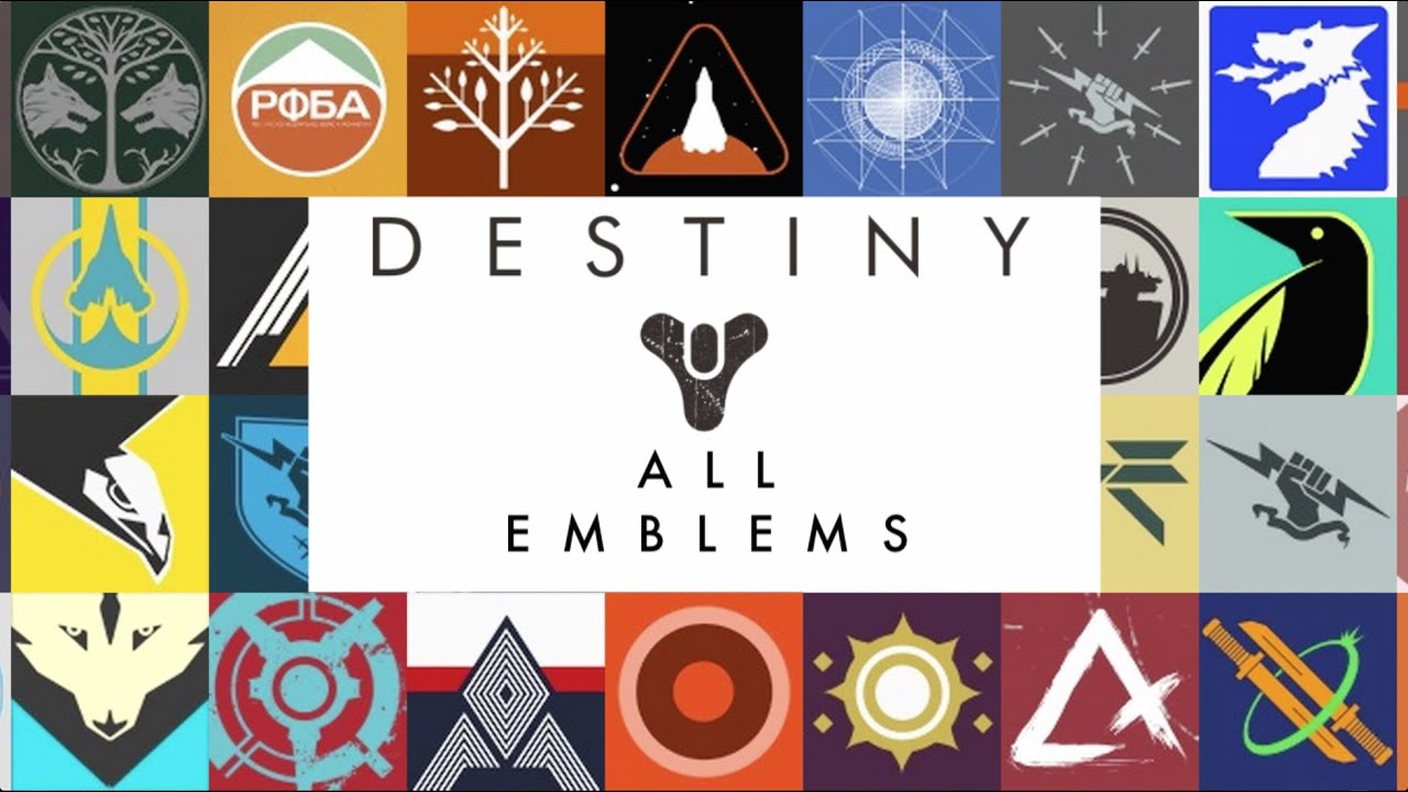 Destiny Emblems Sign Of The Founders