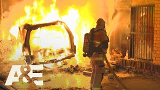 Live Rescue: Victims Saved from Explosive Car Fire (Season 2) | A&E