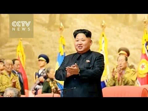 Kim Jong-un addresses veterans in Pyongyang