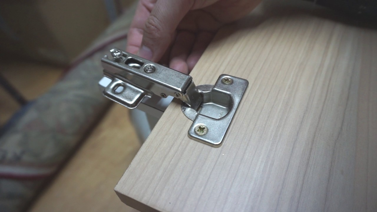 How To Install Concealed Cabinet Hinges 35mm Hole Creation Mounting