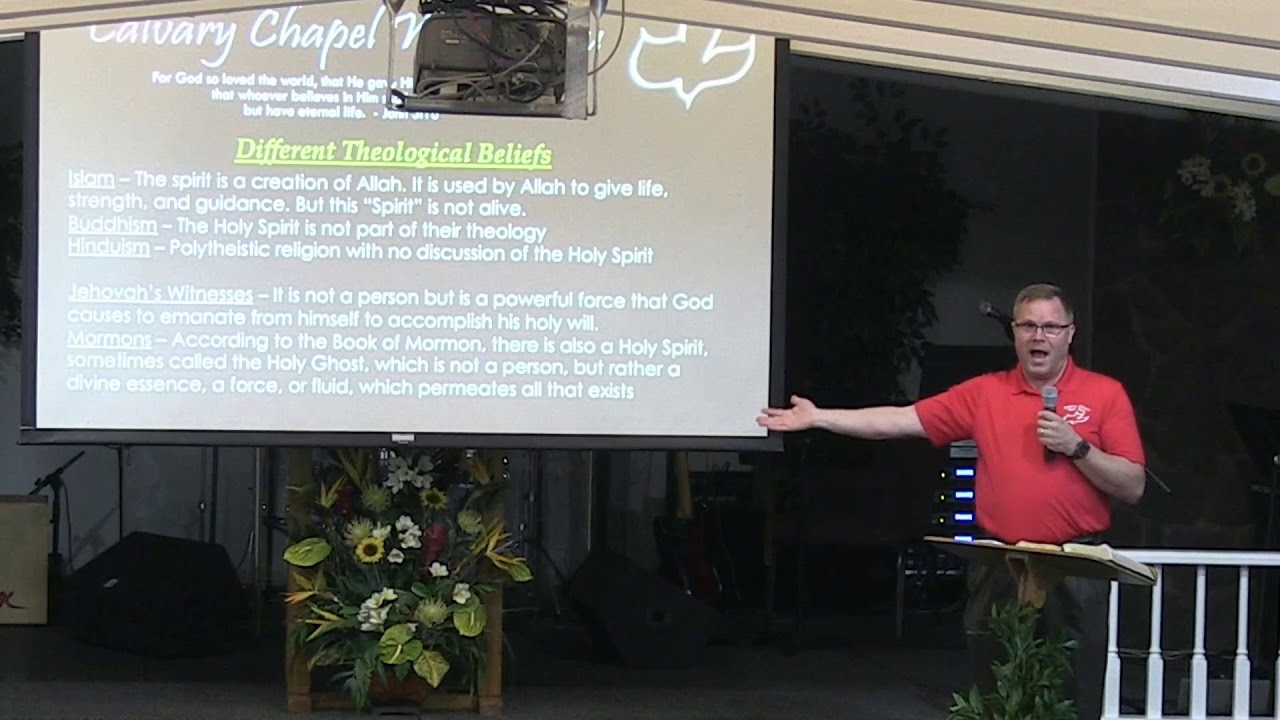 24 July 2019 | CCWO's Midweek study 'The Doctrine of the Holy Spirit' | Pastor Dan Jacobson