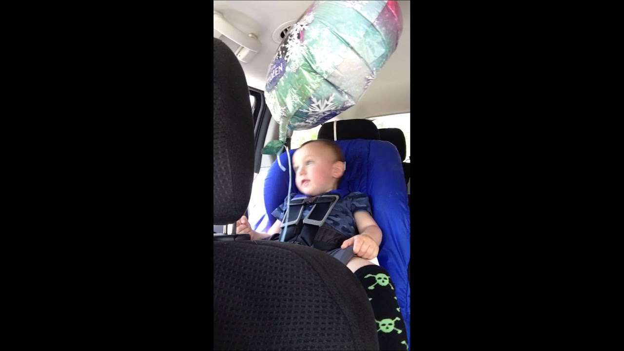 Singing Banana Phone In A Spica Cast And Britax Hippo Car Seat