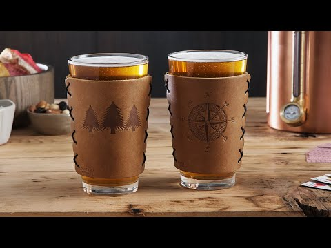 Oowee | Handcrafted Leather Drink Accessories
