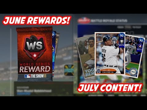 Pulled the Highest Overall Card! June Rewards and July Content Info!