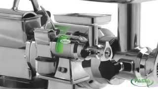 Промышленная мясорубка Fama TG 22(Компания Дисплей плюс предлагает широкий ассортимент профессионального оборудования для кафе, баров,..., 2014-07-15T10:26:40.000Z)