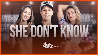 She Don't Know - Millind Gaba | FitDance Channel