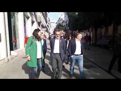 """José Manuel Villegas en Lugo: """"El gobierno de Sánchez es un gobierno fraude"""""""