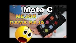 Motorola Moto C Español Unboxing Review | MEJOR GAMA BAJA 2017 al 2018