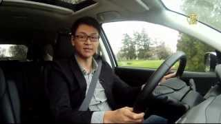 2012 Honda CR V Test Drive 本田CR V試駕