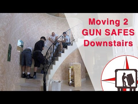 How To Move 2 Gun Safes Downstairs