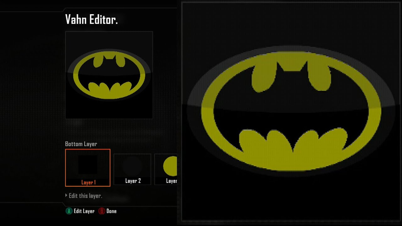 Call of duty black ops 2 emblem editor tutorials black ops 2 call of duty black ops 2 emblem editor tutorials black ops 2 batman logo emblem tutorial batman playercard xbox 360 ps3 wiiu youtube biocorpaavc