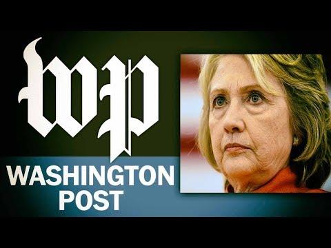WaPo Turns On Hillary: Globalist Damage Control?