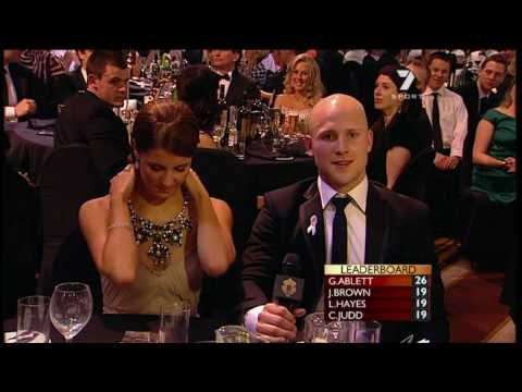 AFL 2009 Brownlow Medal - Round 20 Gary Ablett Jnr.
