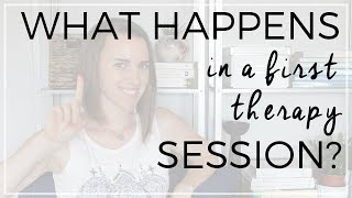 What Happens in a First Therapy Session? | Natalie Moore, M.A., Associate MFT