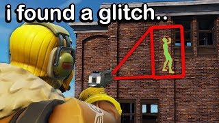 I tried a NEW GLITCH in Fortnite, then this happened..