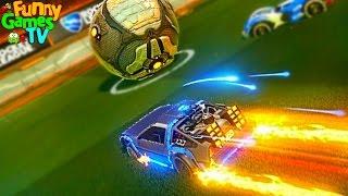 - Мультик про машинки для детей Играем в футбол крутое видео для детей битва тачек игра Rocket League