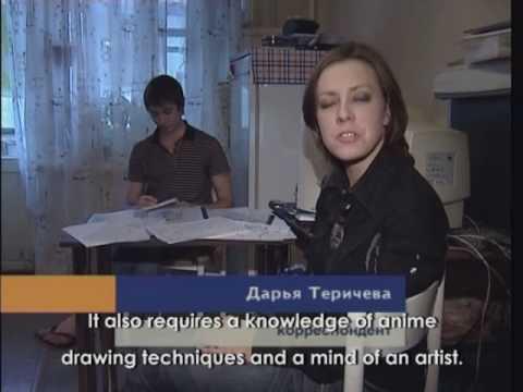 Konstantin Zhbanov, Short-film Awakening, Пробуждение (interview From Television News)