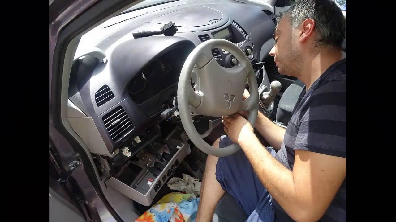 Ремонт на патрон на стартер на Mitsubishi