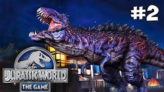 Jurassic World. Прохождение #2 (Gameplay iOS/Android)
