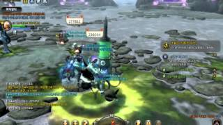 Dragon Nest Korean - Poison Break ex with Healing Effect