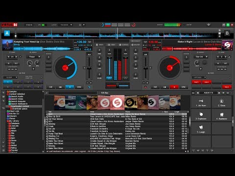 (Virtual DJ 8)Best Music Player for Live Mixing and editing songs