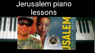Jerusalema|master kg|nomsecbo|piano lesson|chord breakdown| How to play jerusalema on piano