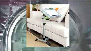 Sobuy Nursing Home Auto-touch Overbed Table Bed Table Laptop Table Sofa Side Table Fbt07n-sil