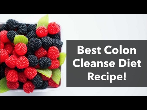 The Best Colon Cleanse Recipe For Your Colon Detox Diet