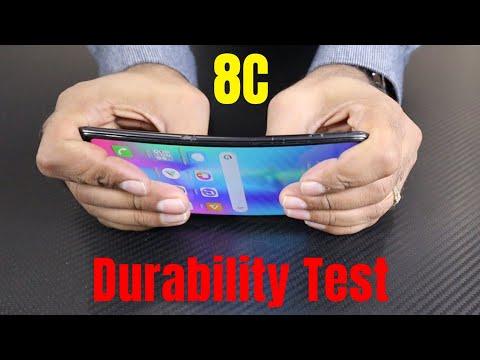 Huawei Honor 8C Durability Test (DROP, SCRATCH, WATER, BEND) Test ! [Hindi]