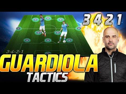 3-4-2-1 THE BEST ATTACKING POSSESSION TACTIC - GUARDIOLA TACTICS FUT - FIFA 20 ULTIMATE TEAM