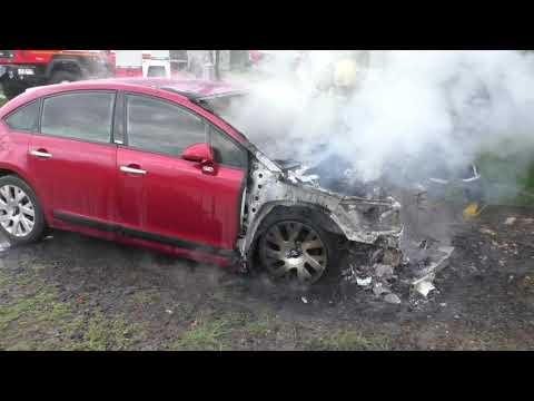 Mns Vol: Луцький район: вогнеборрі ліквідували пожежу у легковому автомобілі