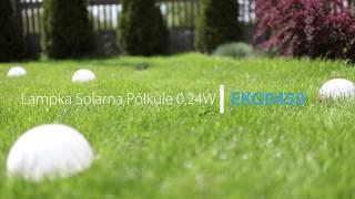Lampki Solarne Półkule MiLAGRO / Eko-Light #lampkisolarne