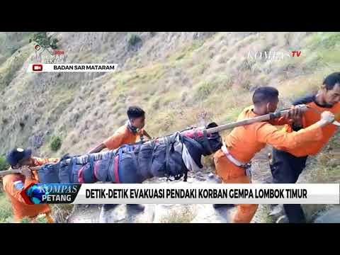 Evakuasi Jenazah Pendaki Rinjani Berlangsung Dramatis