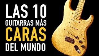 Las 10 guitarras más caras del mundo
