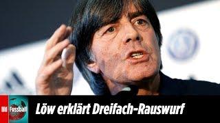 Jogi Löw erklärt Rauswurf von Hummels, Boateng und Müller | Nationalmannschaft