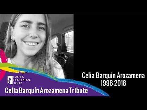Friends pay their respects to Celia Barquín Arozamena | Estrella Damm Mediterranean Ladies Open