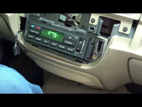 Troubleshooting a Ford Electronic Automatic Temperature Control Module