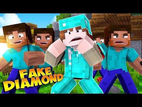 FAKE DIAMOND TROLLS! | Minecraft Money Wars RETURNS #8