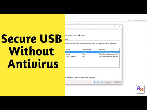 How To Protect USB From Viruses Permanently